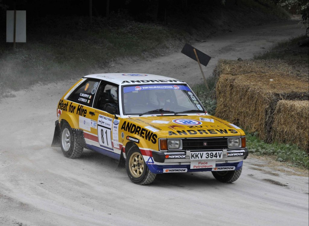 Talbot Sunbeam Lotus rally car