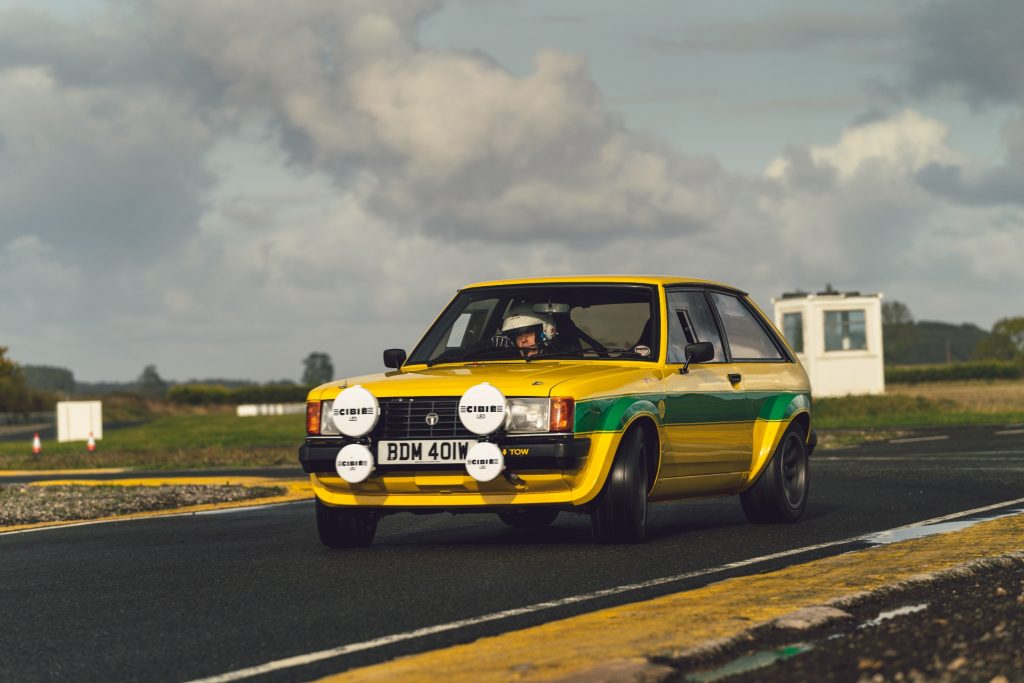 Tolman Sunbeam Lotus oversteer drift