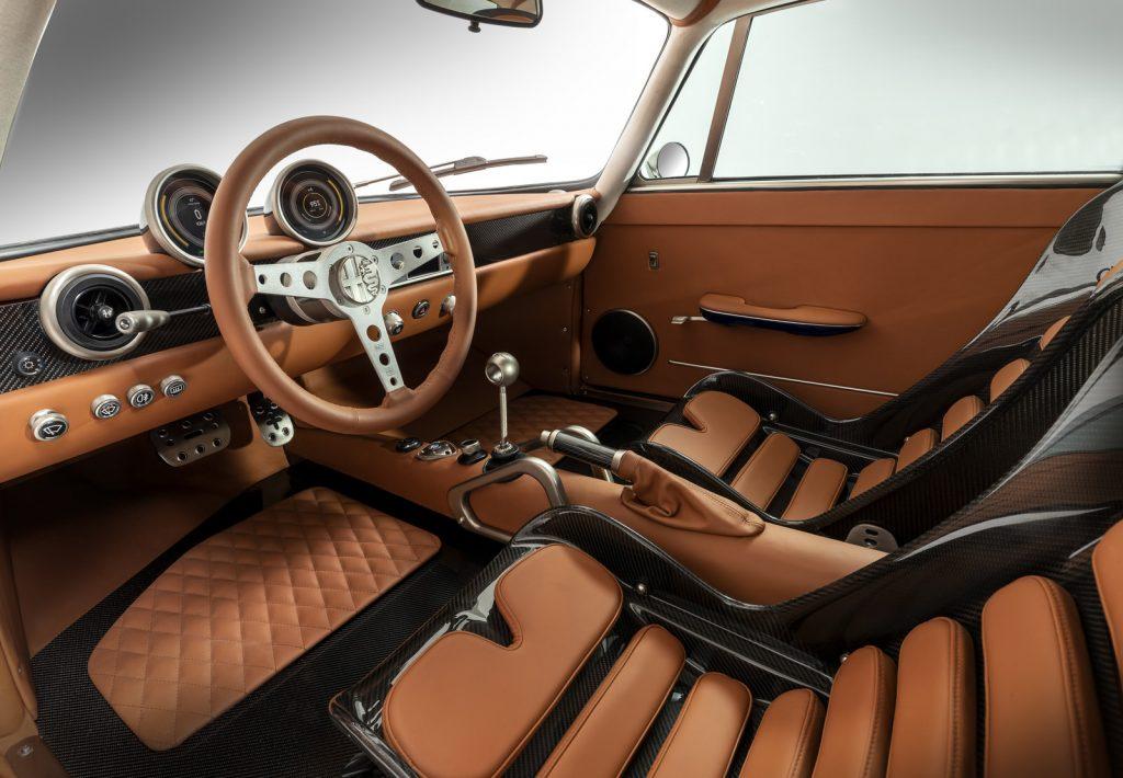 Totem Automobili Alfa Romeo GT electric car interior