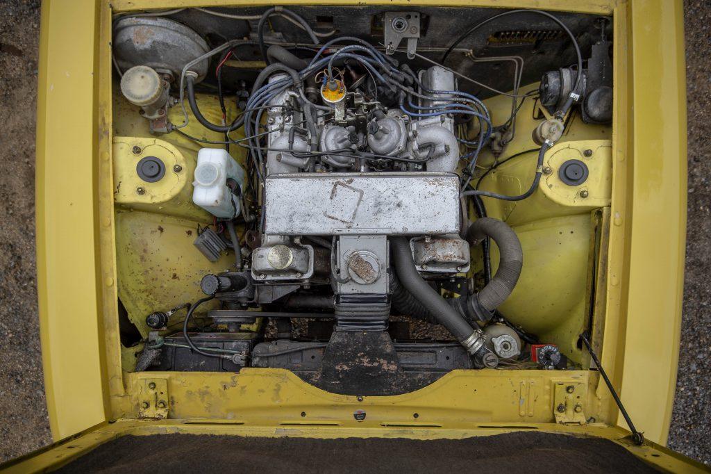 Triumph Stag engine bay