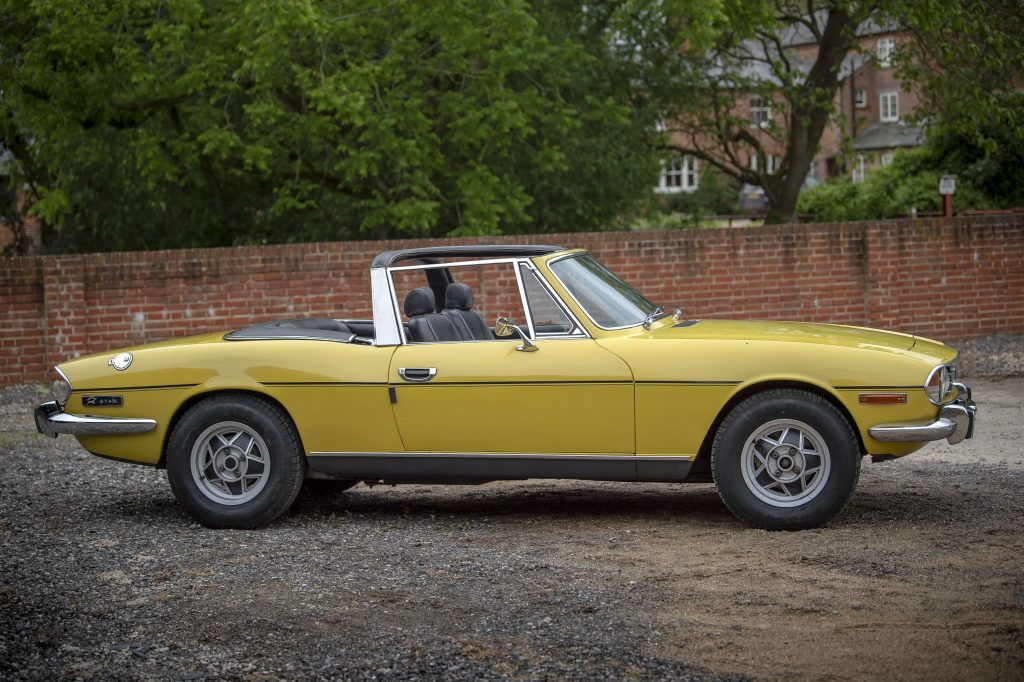 What's a Triumph Stag like to drive?