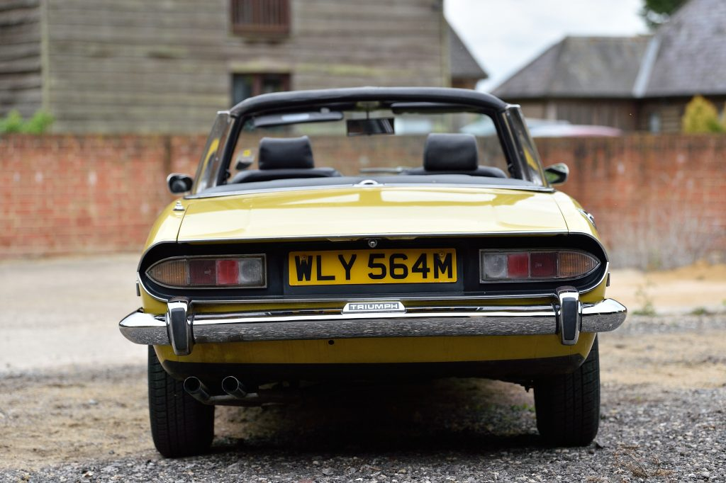 Triumph Stag rear view