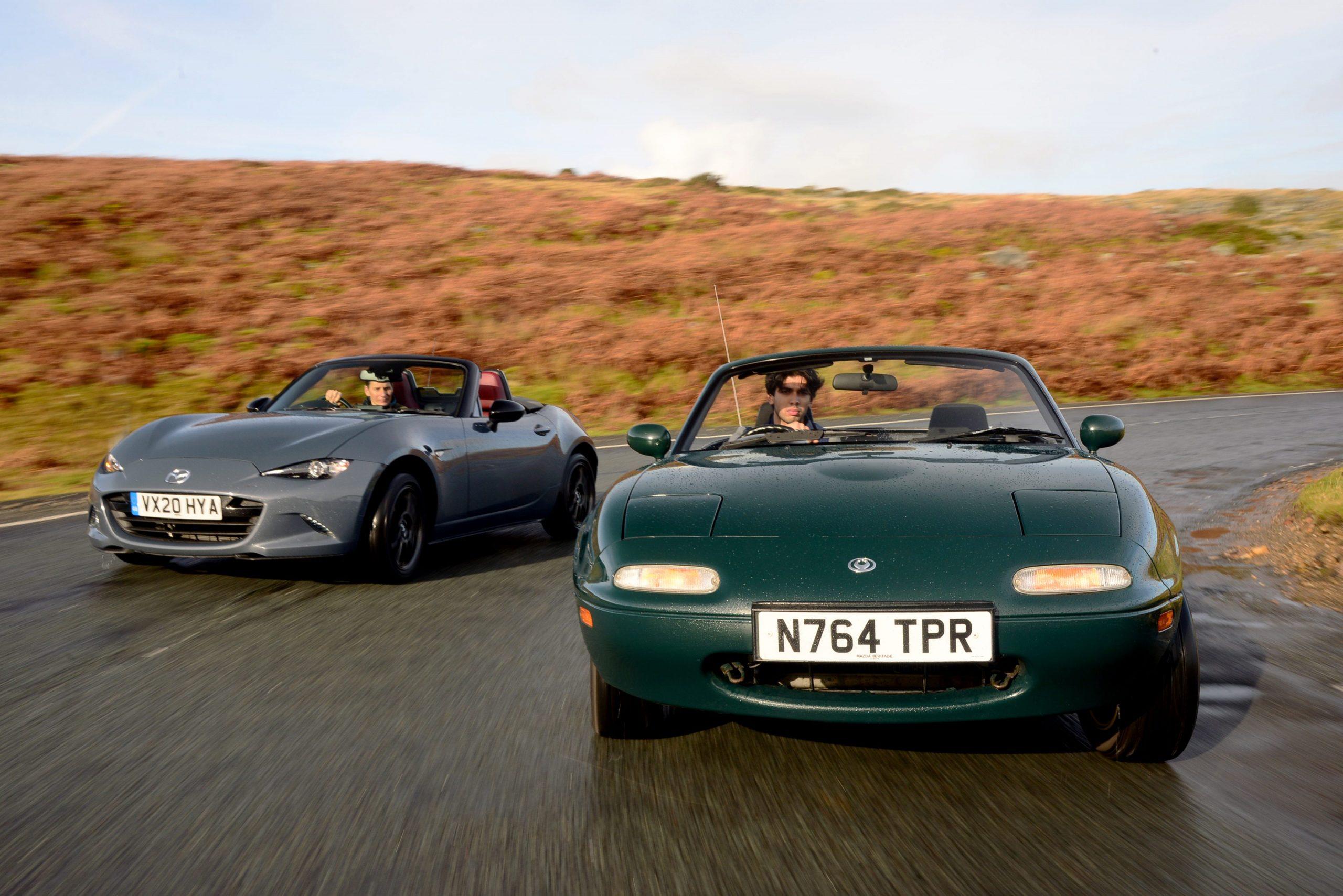 Retro Rewind: Mazda MX-5 1.8i vs MX-5 R-Sport