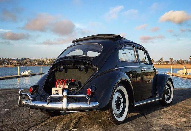 VW Beetle EV rear