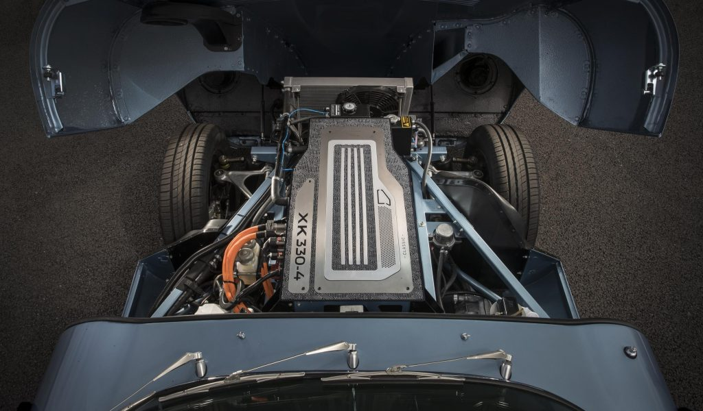 Jaguar E-Type Zero electric conversion