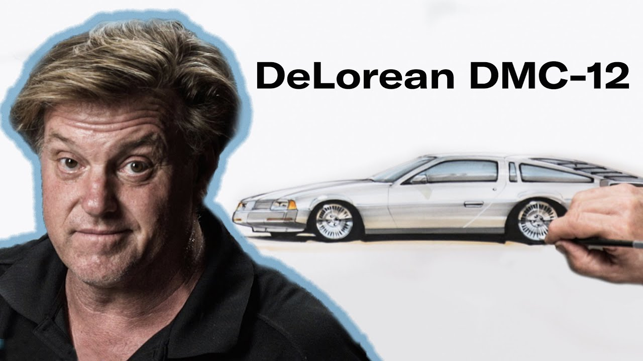 Chip Foose redesigns the DeLorean DMC-12