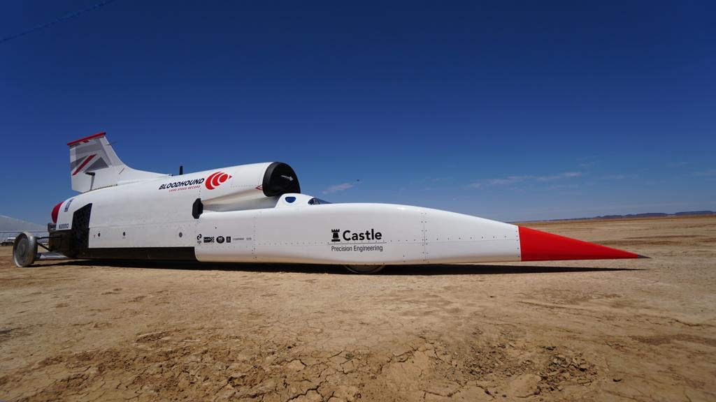 Someone please save the Bloodhound Land Speed Record racer