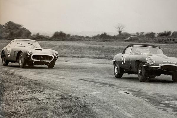 Legendary 'ZP' Jaguar E-Type undergoes restoration