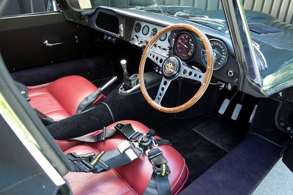 Jaguar E-Type ZP interior