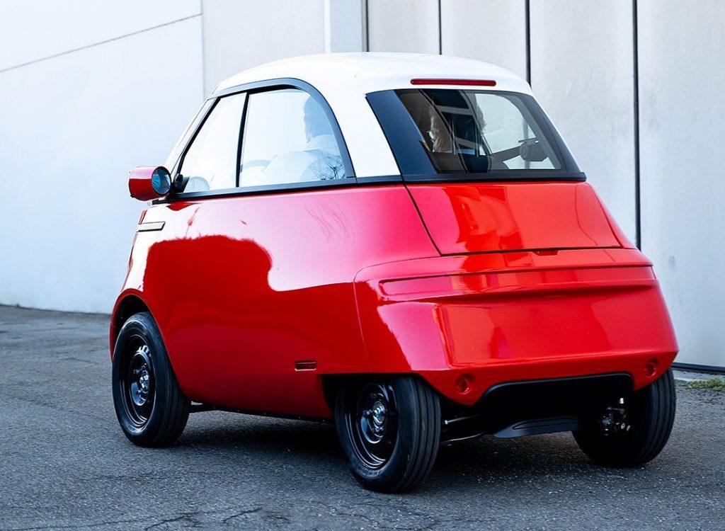 Microlino electric city car