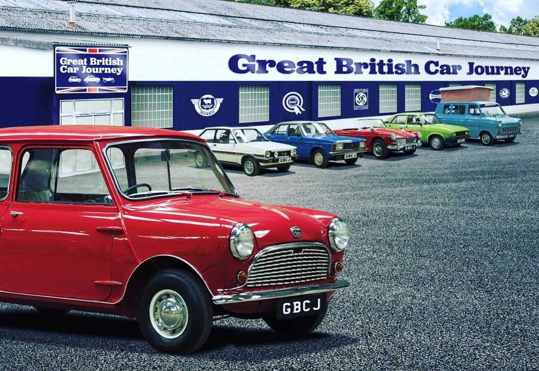 New car museum will let you drive models from the glory days of British motoring