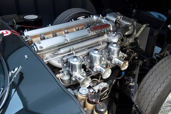 Jaguar E-Type ZP engine