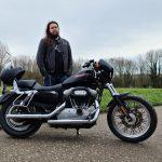 Ste Applegate's Harley-Davidson 883