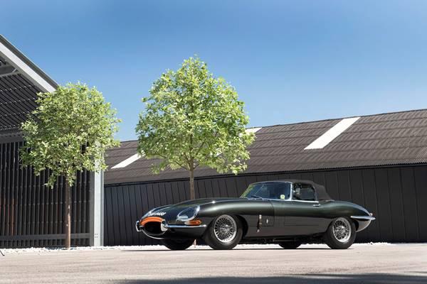 Jaguar E-Type ZP restoration