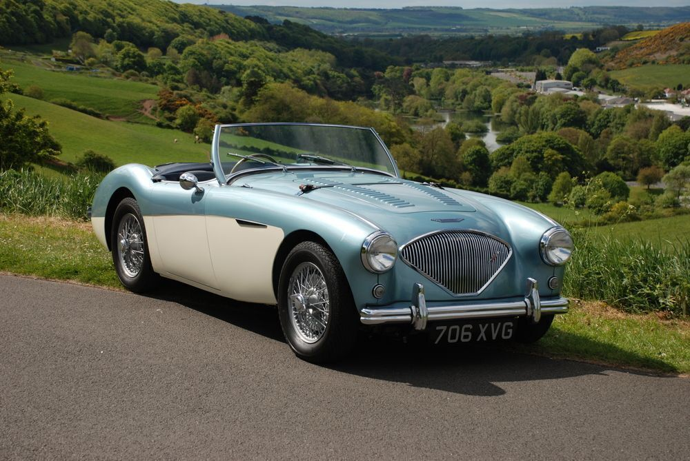 Is this works-spec Austin-Healey 100/4 your next Mille Miglia steed?