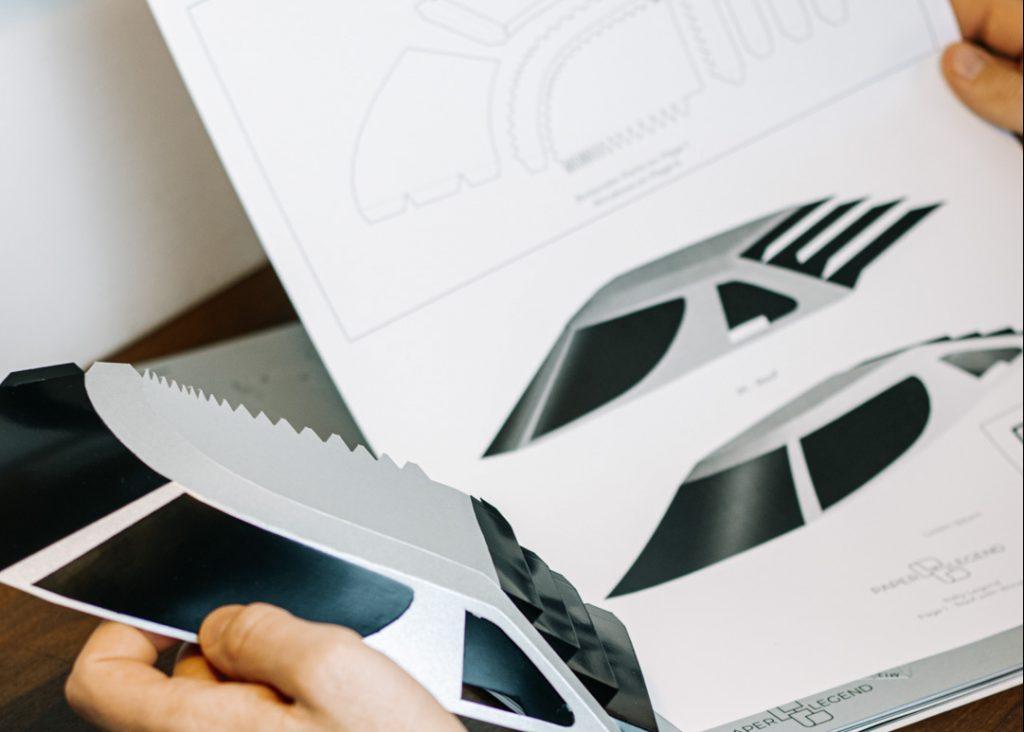 Paper car models Paperlegends
