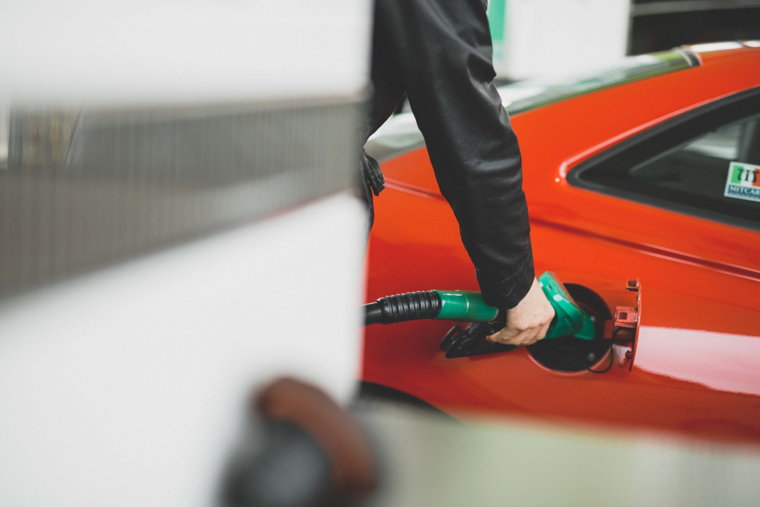 Glove up when you fill up?