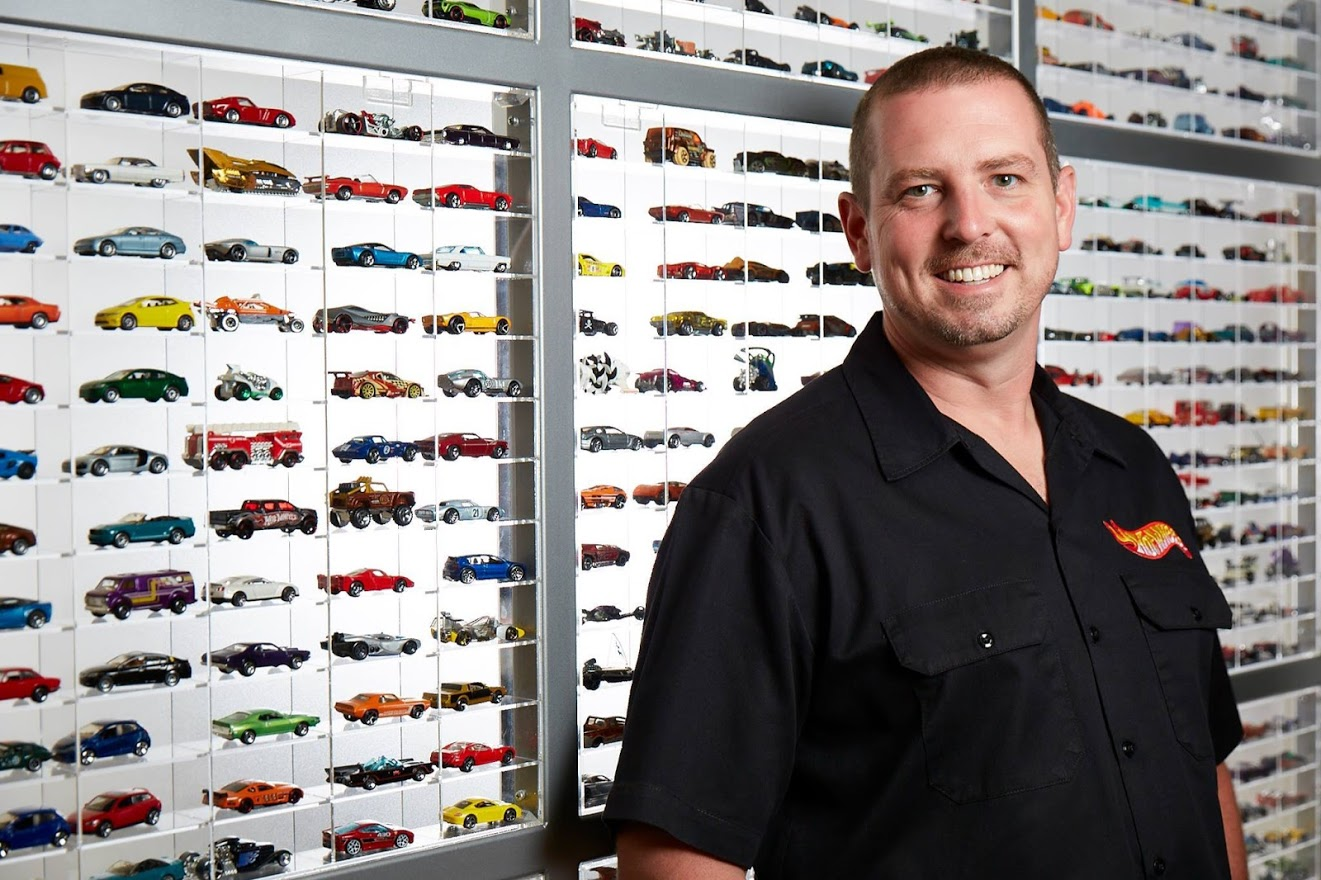 Video: Geek out with a real-life Hot Wheels designer