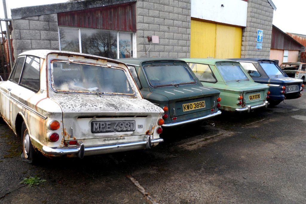 Merlin Motors, Caerwys, north Wales