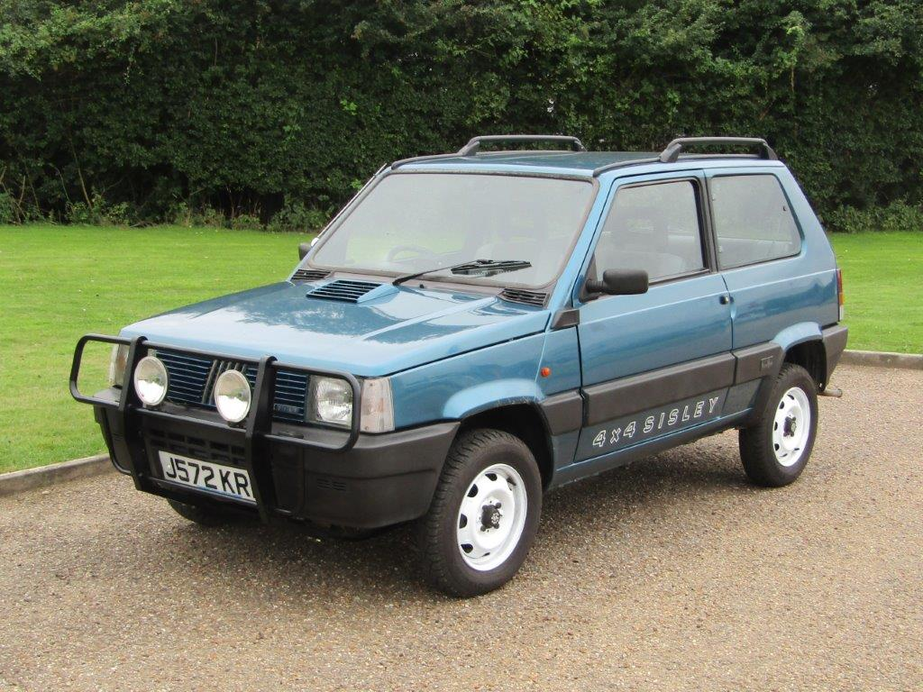 Fiat Panda 4x4 is a great starter classic for £5000_Hagerty