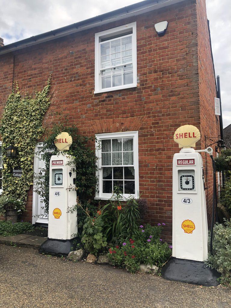 Bensteads Cottage, old filling stations, Horsell, Surrey