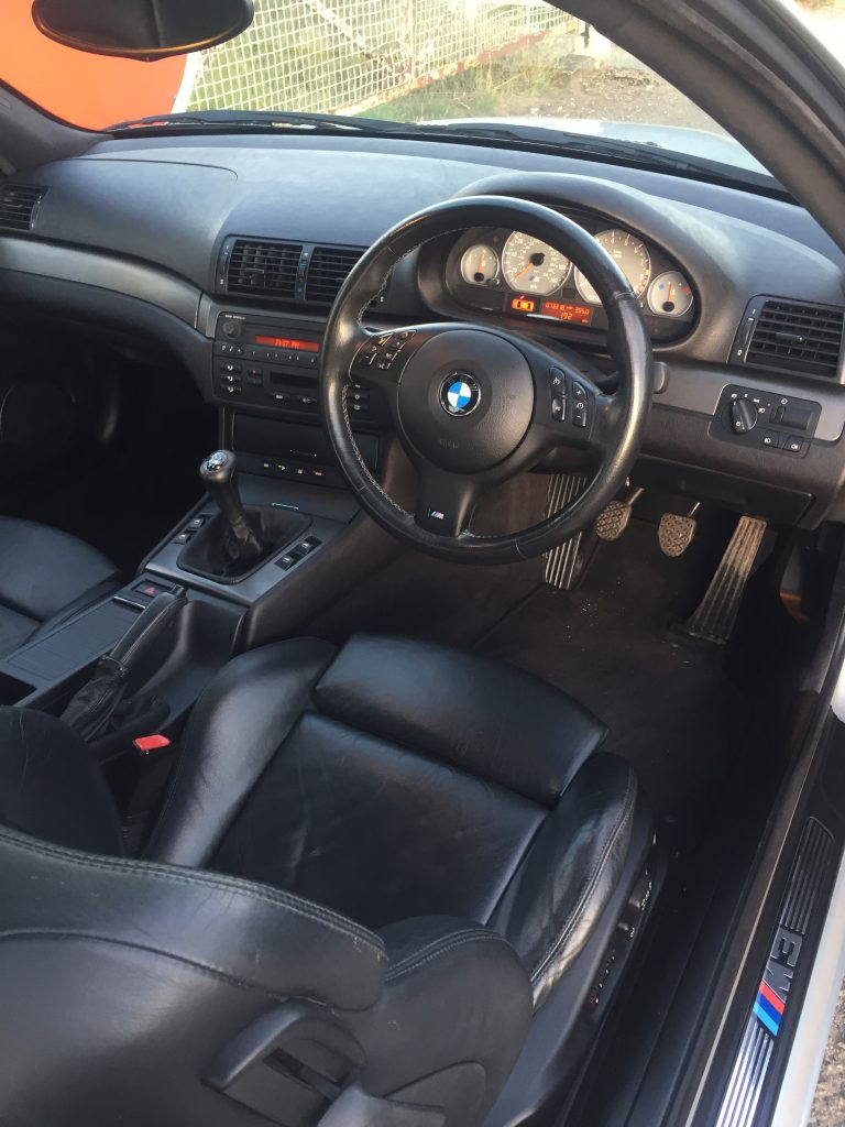 BMW M3 E46 interior