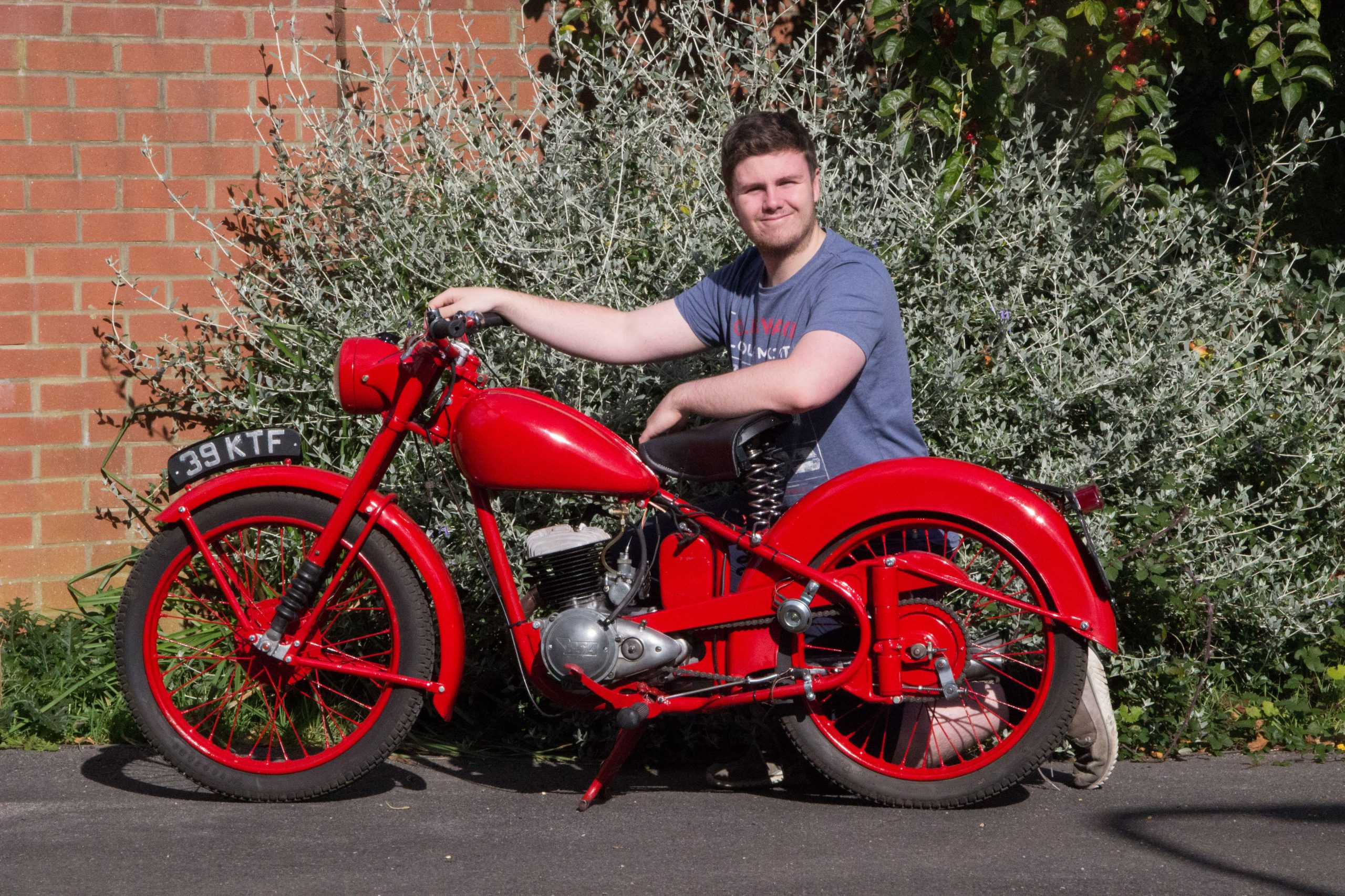The Young Ones: The baby-faced bikers turning to classics