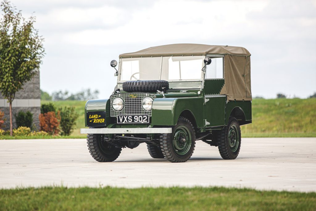 Buying a Land Rover Series 1