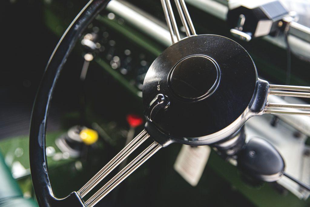 Land Rover Series 1 steering wheel