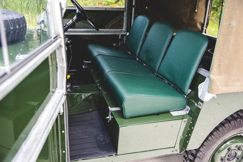 Land Rover Series 1 seats