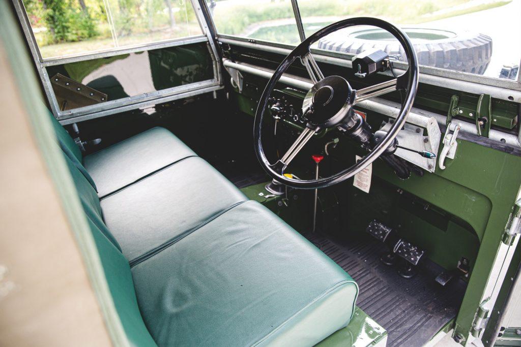 Land Rover Series 1 interior