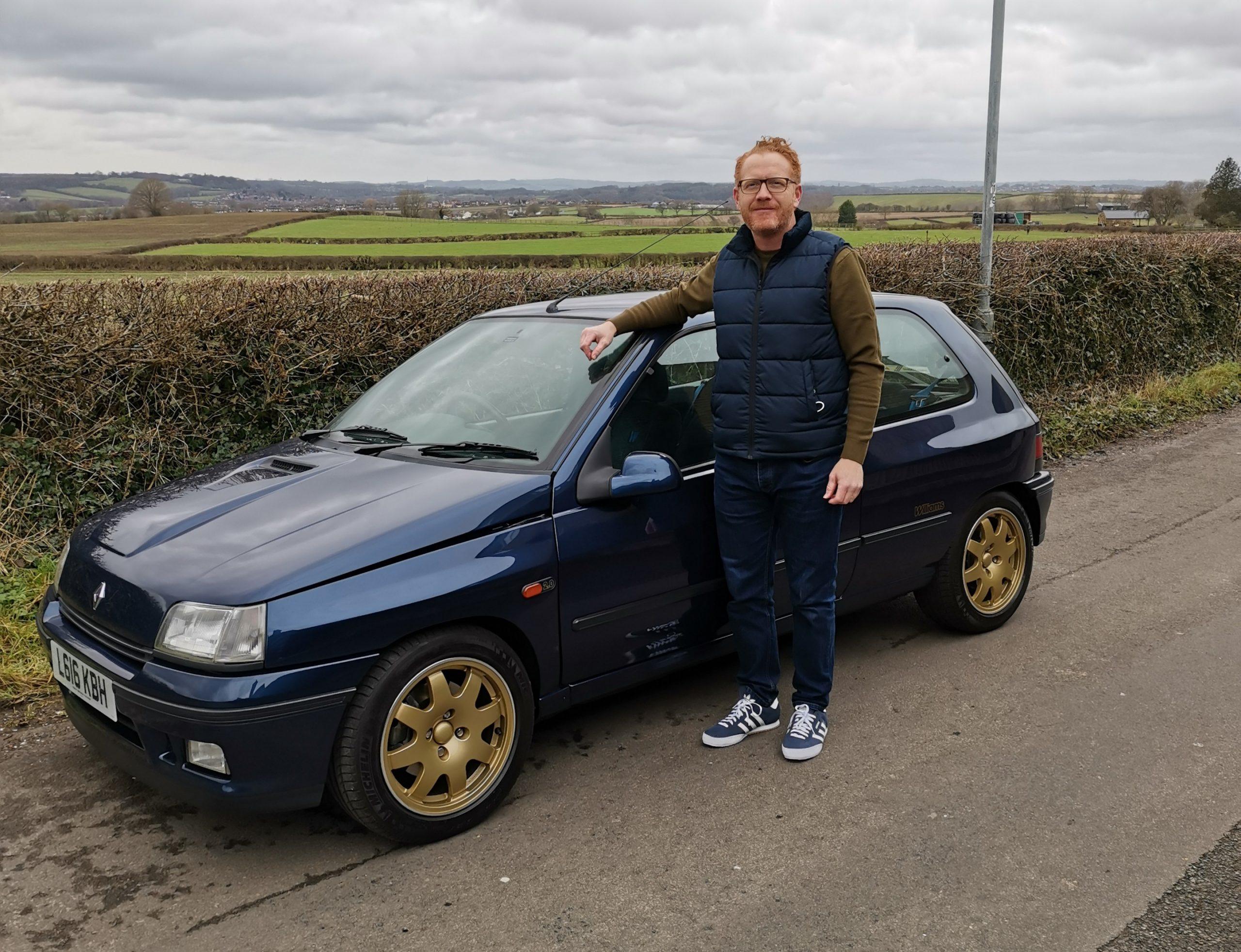 Your Classics: Lee Sunderland, 1994 Renault Clio Williams