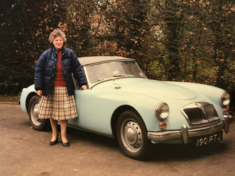 Previous owner of the discovered 1960 MGA