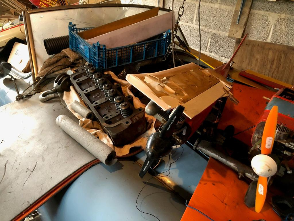 1960 MGA discovered in garage