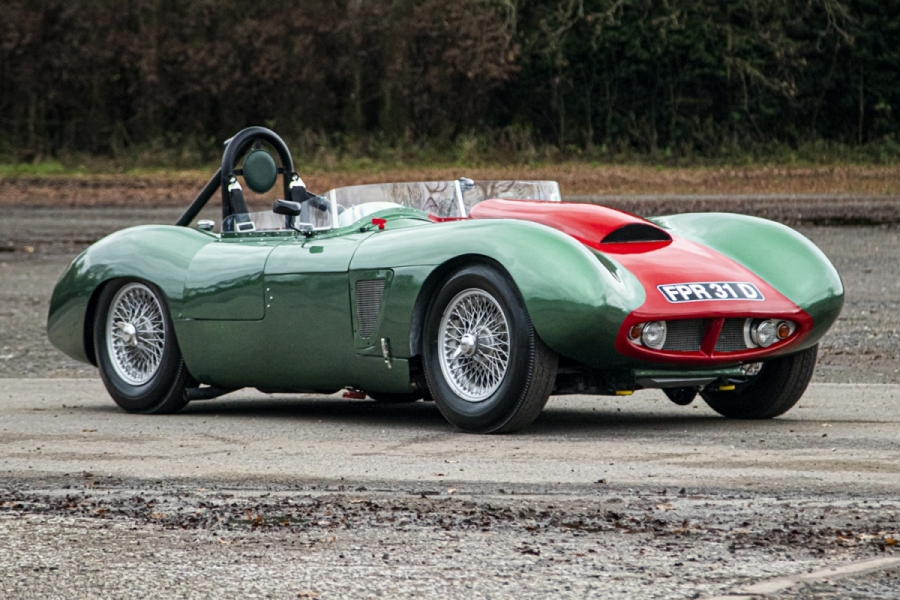 Microplas Mistral is one of the best kit cars of the 50s and 60s
