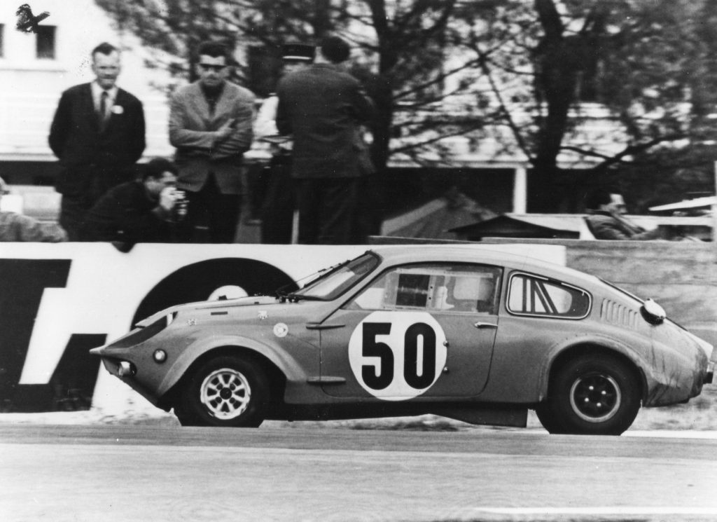 Mini Marcos at Le Mans in 1966