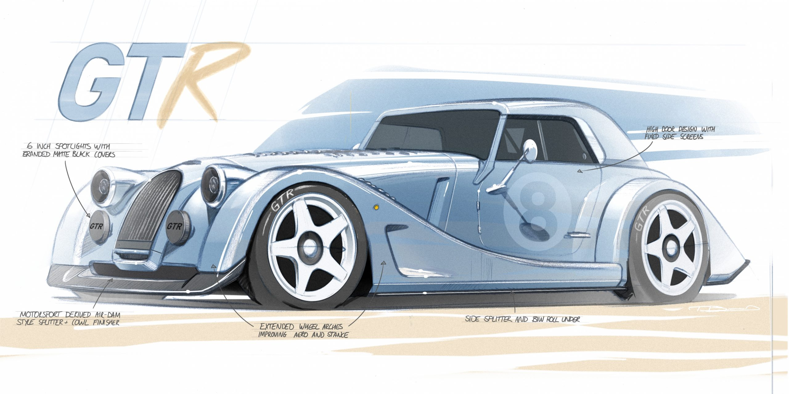 The Morgan Plus 8 is roaring back… for a limited time only