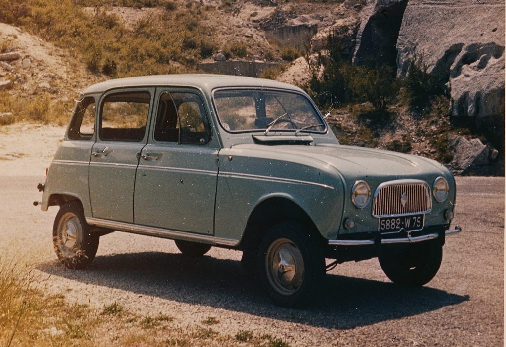 Renault 4 60 years of a cult car