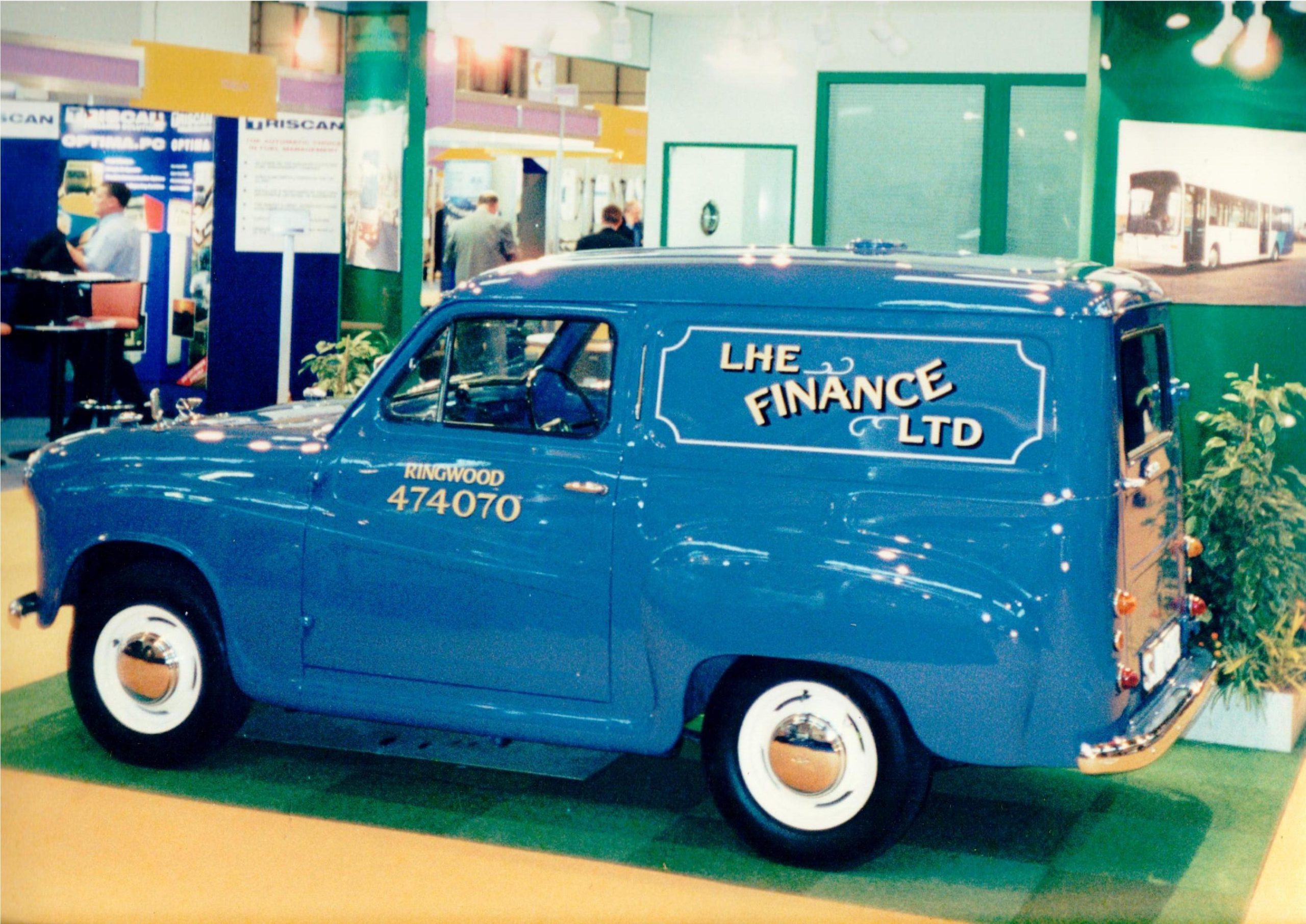 "Your Classics: ""Norman"" the Austin A35 van"