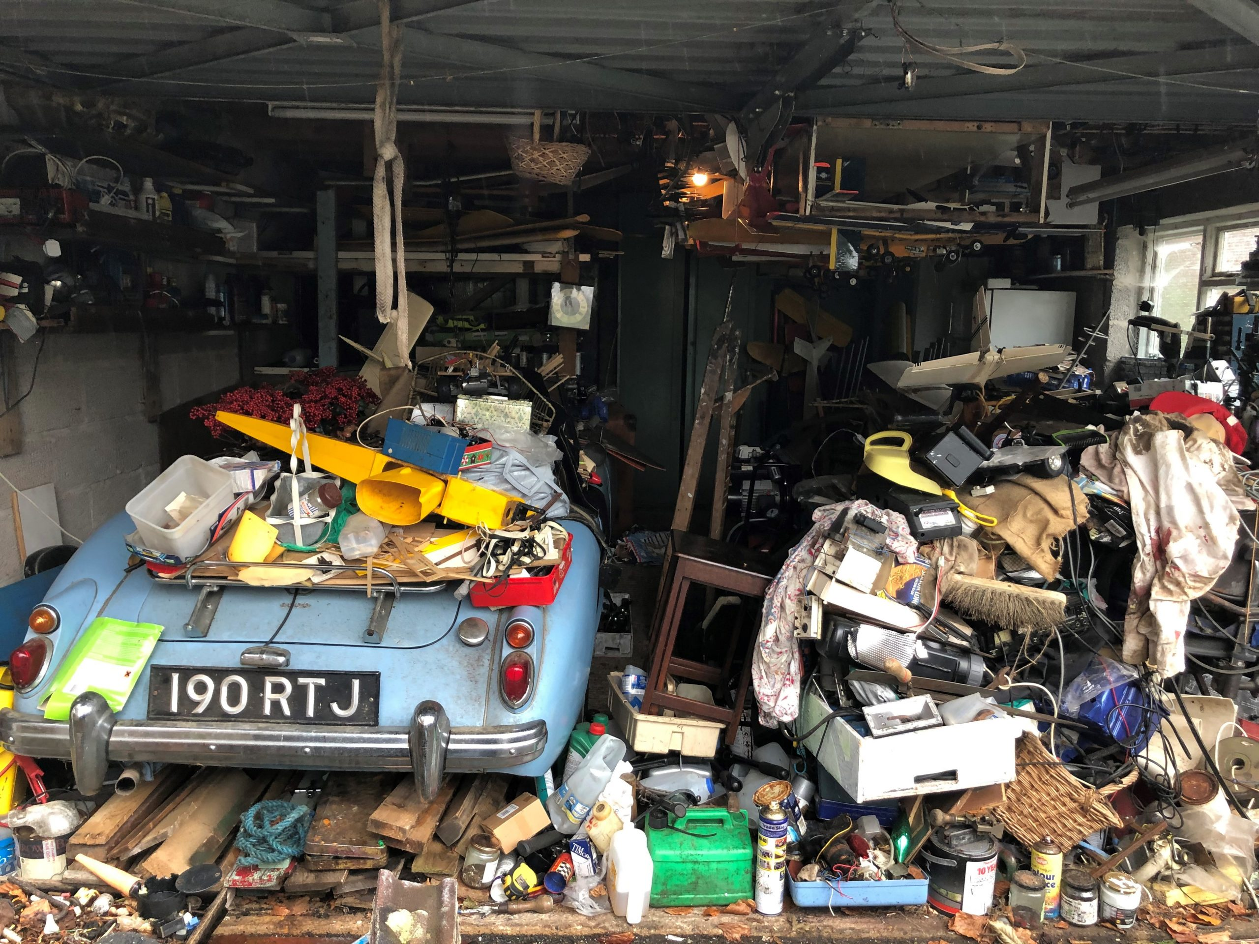 MGA rescued after 20 years buried beneath rubbish