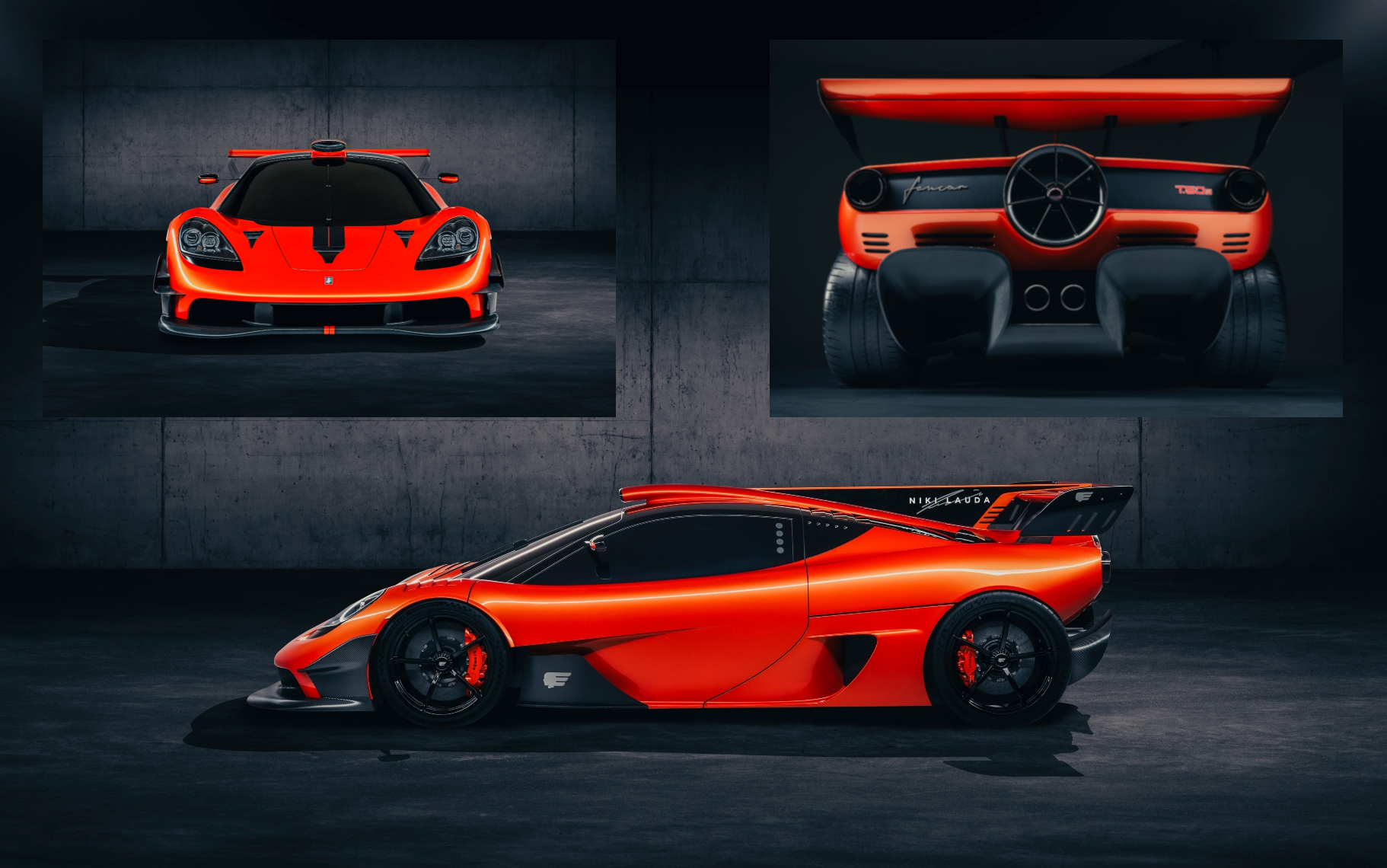 Gordon Murray pays tribute to Niki Lauda with lightweight, limited-edition T.50s that will cost £3.7m