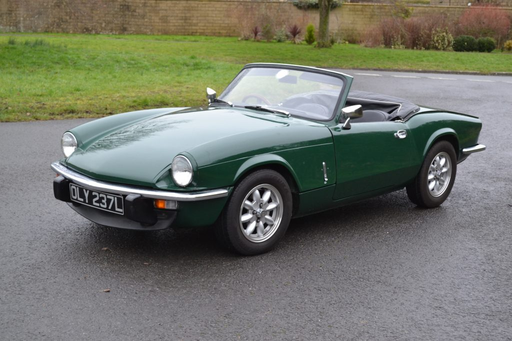 Hagerty valuations for Triumph Spitfire