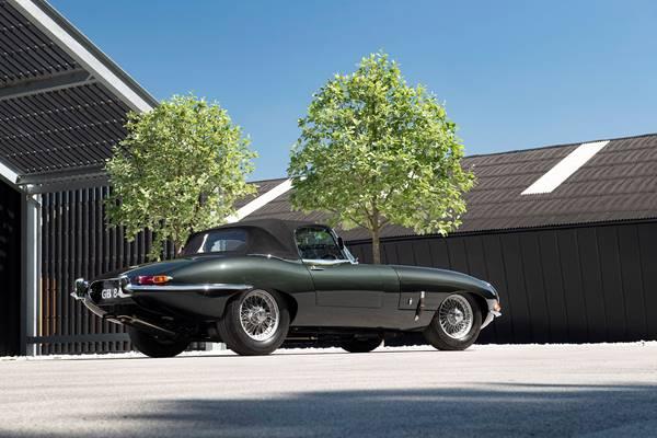 Jaguar E-Type ZP race car