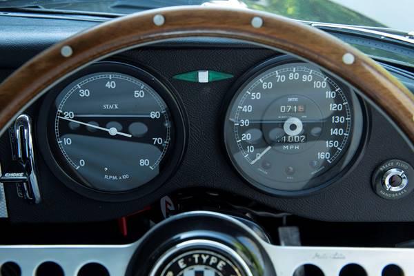 Jaguar E-Type ZP speedo