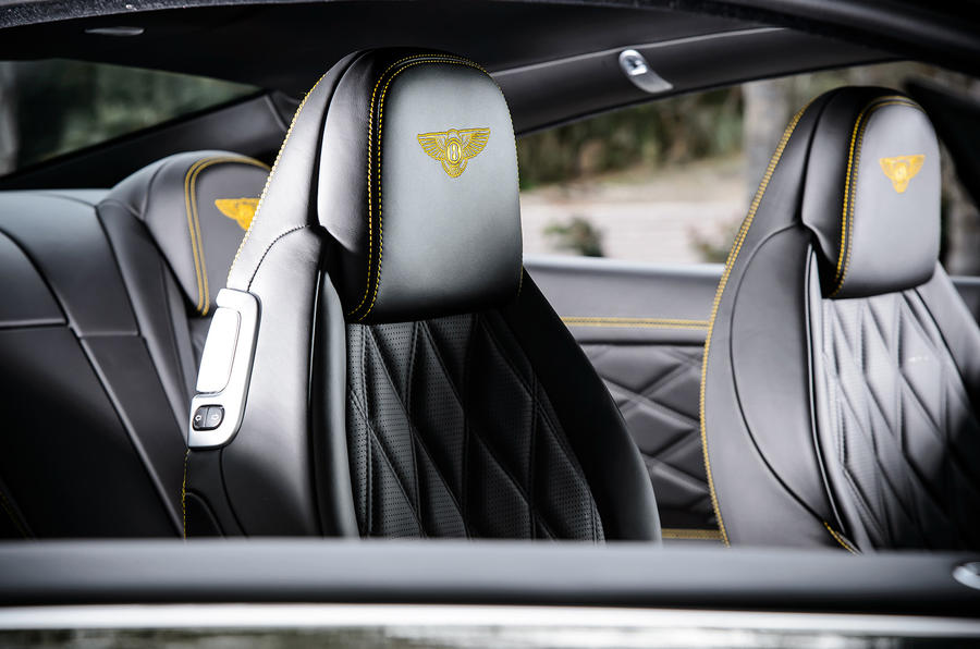 Bentley Continental GT V8S seats