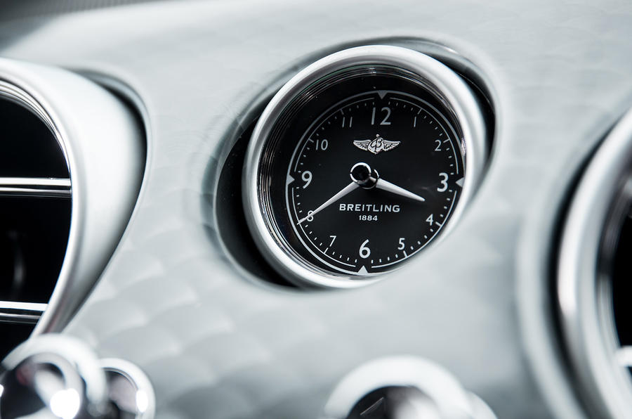 Bentley Continental GT V8S Breitling clock