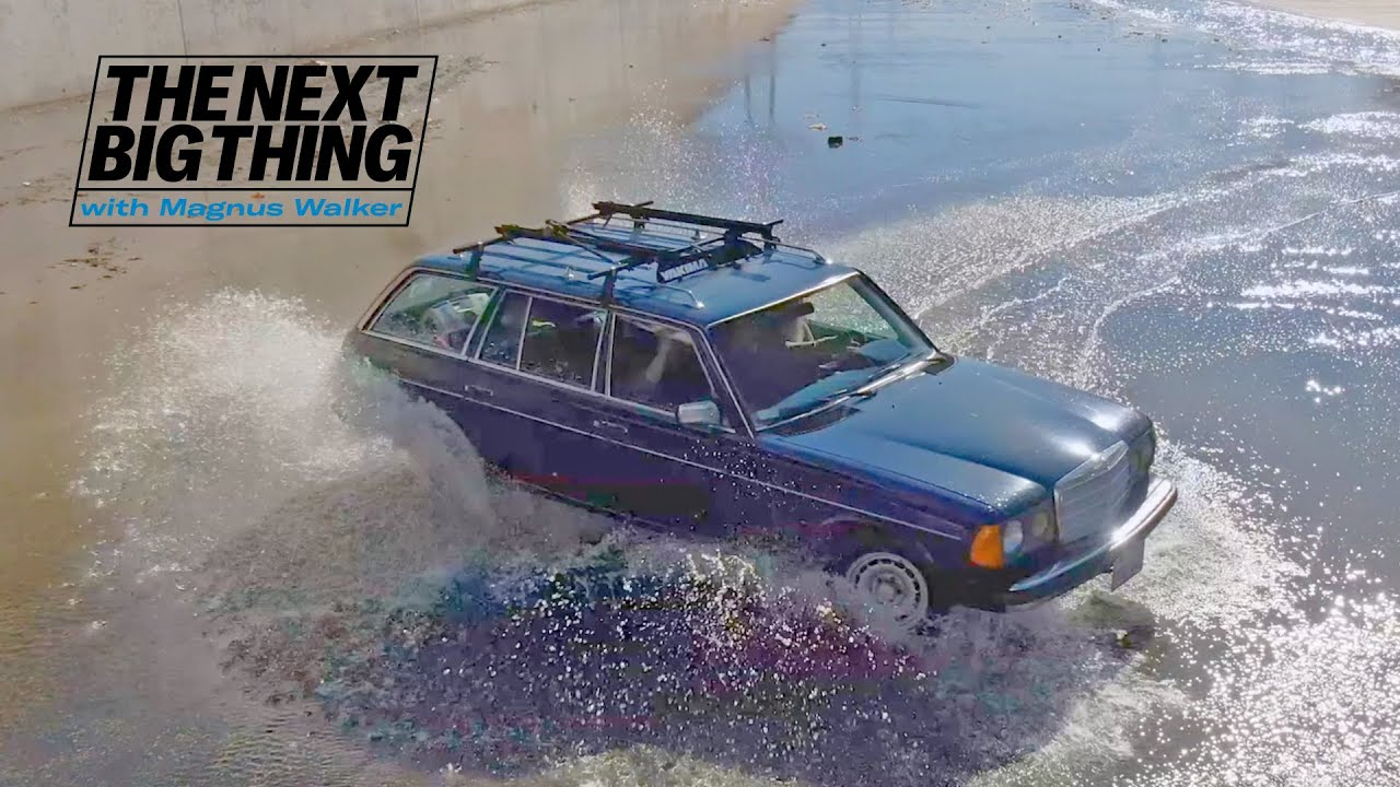 Mercedes W123 | The Next Big Thing with Magnus Walker