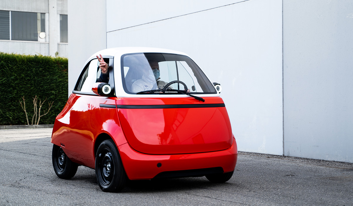 Micro scooter company's modern-day Isetta gets ready to roll