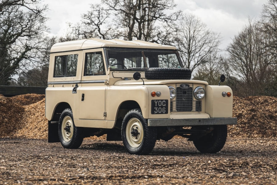 Oldest Land Rover Series II up for auction