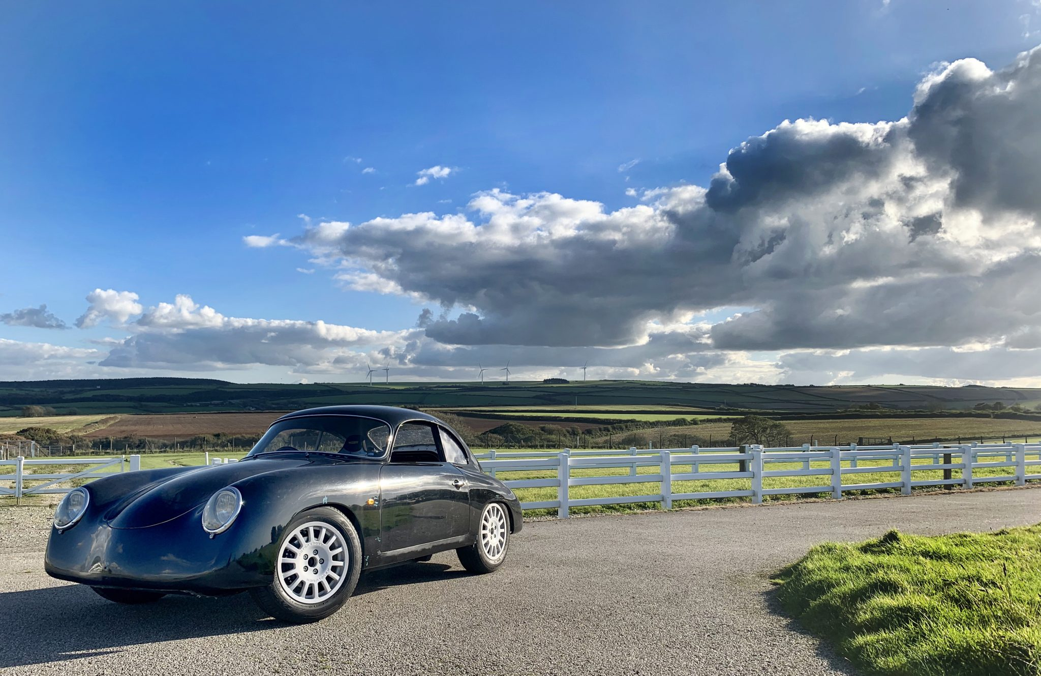 Say Watt? This Porsche 356 lookalike is all electric